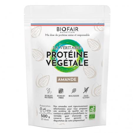 Protéine Végétale bio - Amande | 500g