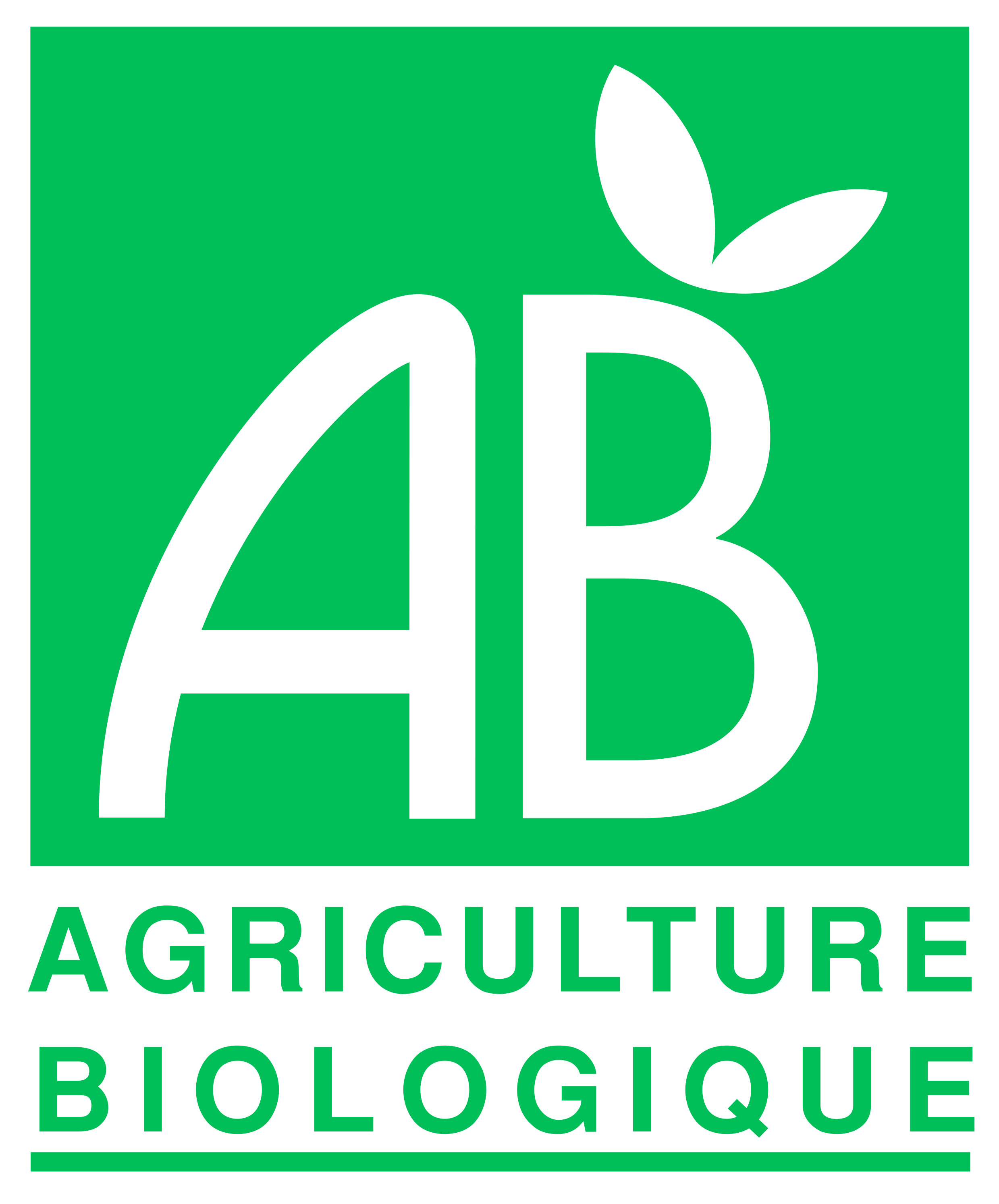 Produits certifiés bio